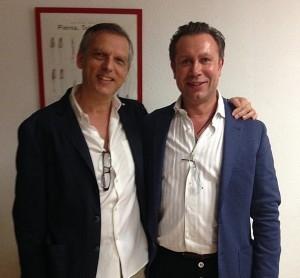 Dr Armengou con Dr Egor Egorov, después de la sesión DEMO